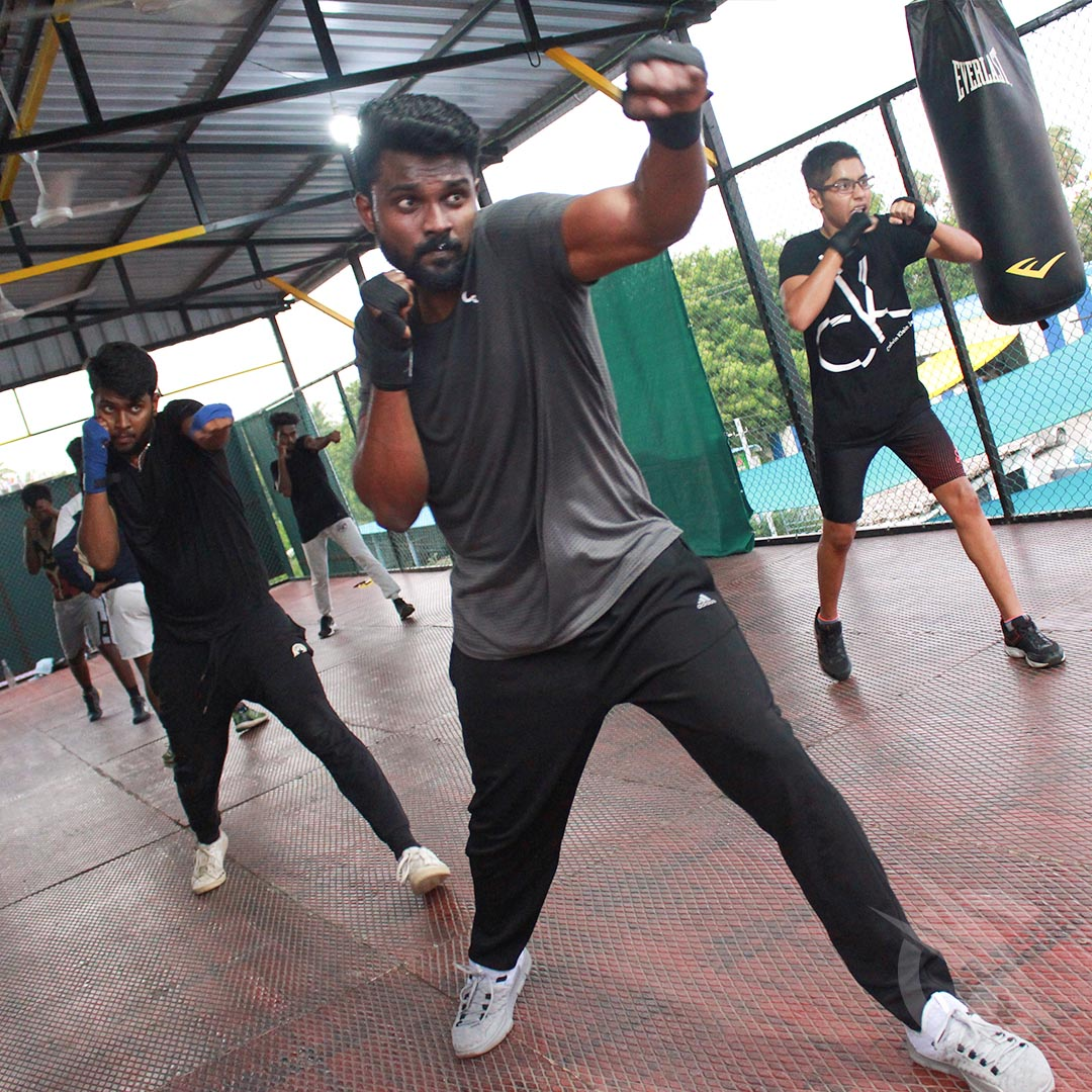 Knock Out Boxing clases chennai